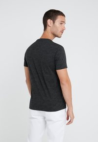 Polo Ralph Lauren - SHORT SLEEVE - T-shirts - black marl heather - 2