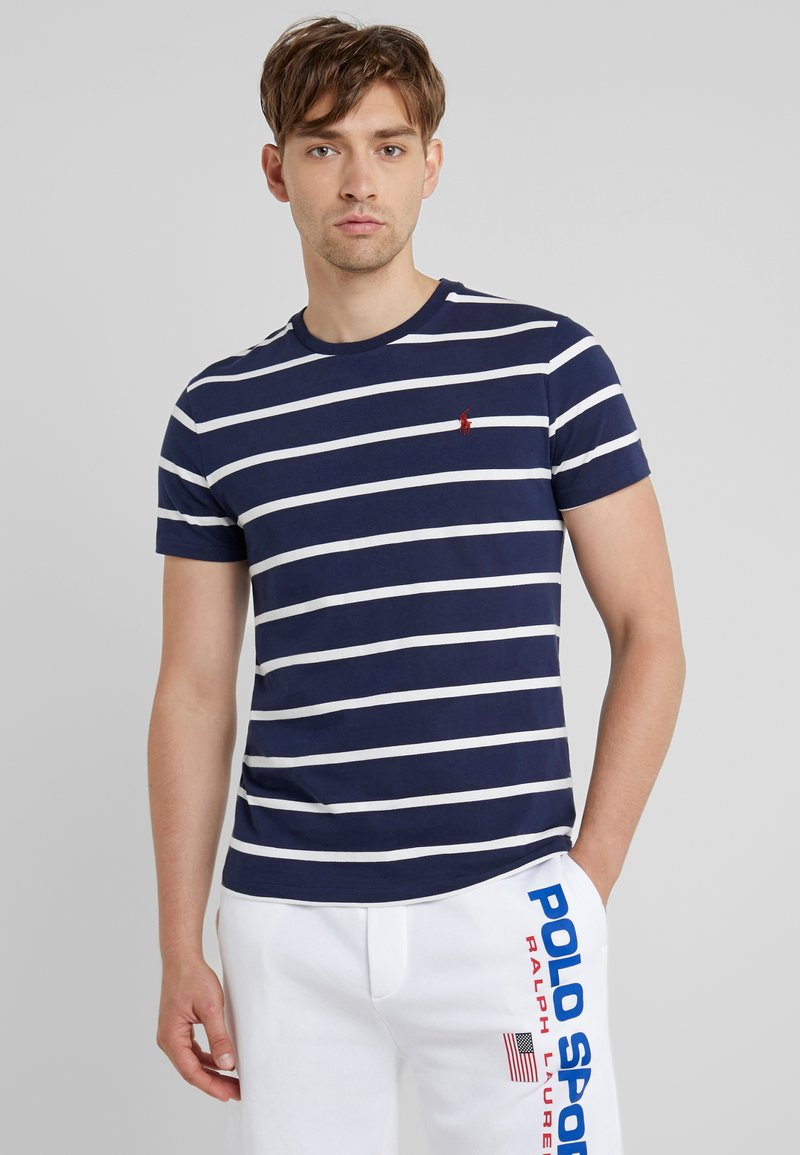 Polo Ralph Lauren - T-shirt z nadrukiem - newport navy
