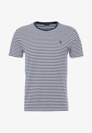 T-shirt con stampa - white/newport navy