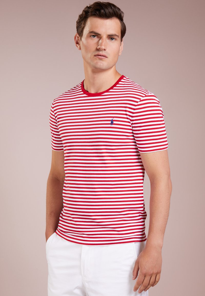 Polo Ralph Lauren - T-shirt imprimé - red/white