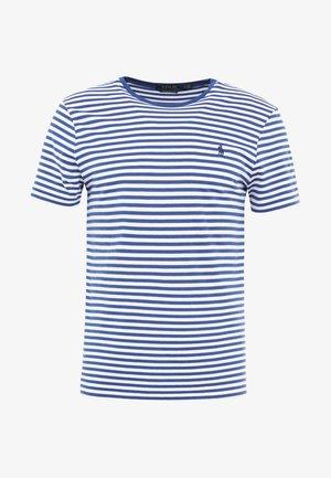 T-shirts print - annapolis blue/white