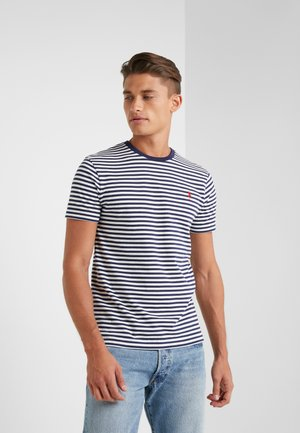 Camiseta estampada - nevis/newport navy