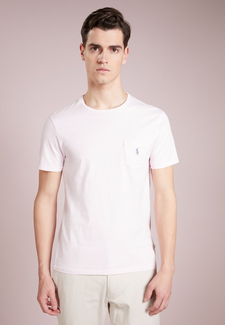 Polo Ralph Lauren - SLIM FIT - T-shirts - carmel pink