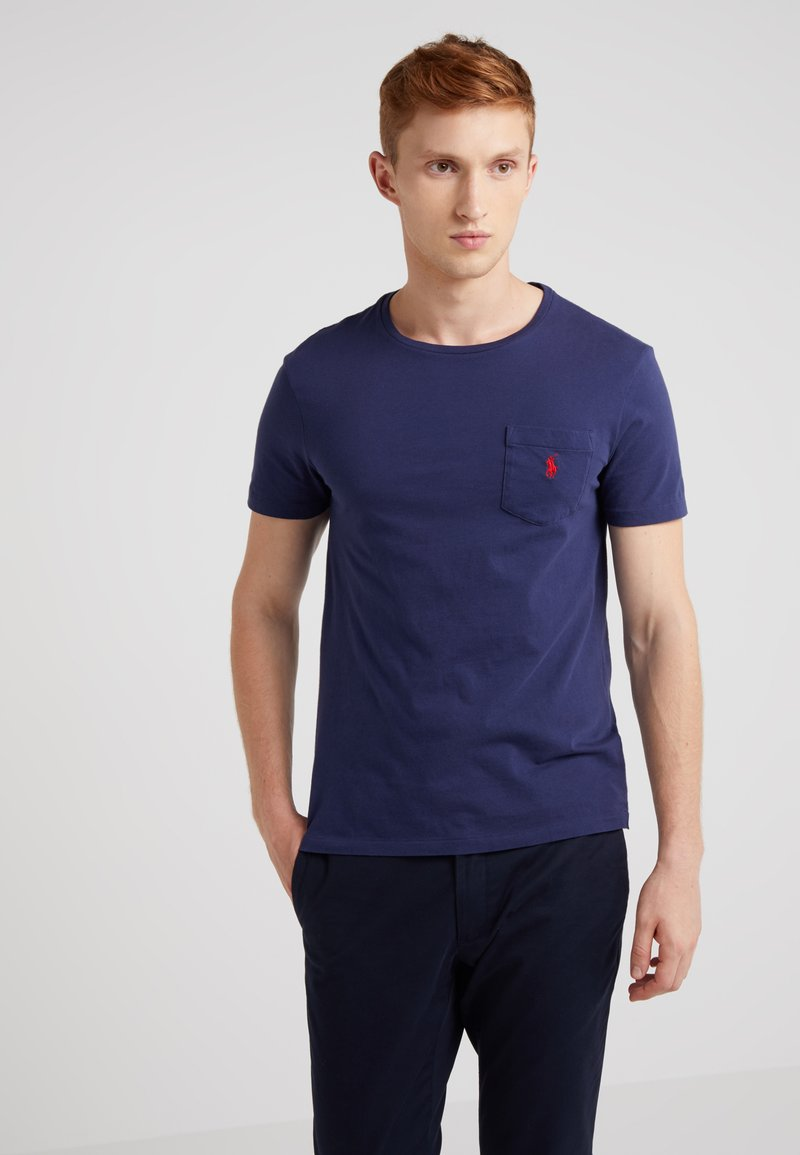 Polo Ralph Lauren - SLIM FIT - T-shirts - dark blue