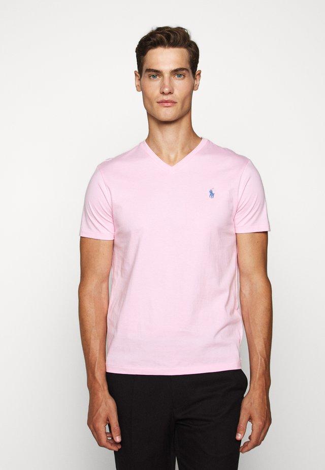 Basic T-shirt - carmel pink