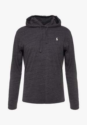 Bluza z kapturem - black marl heather