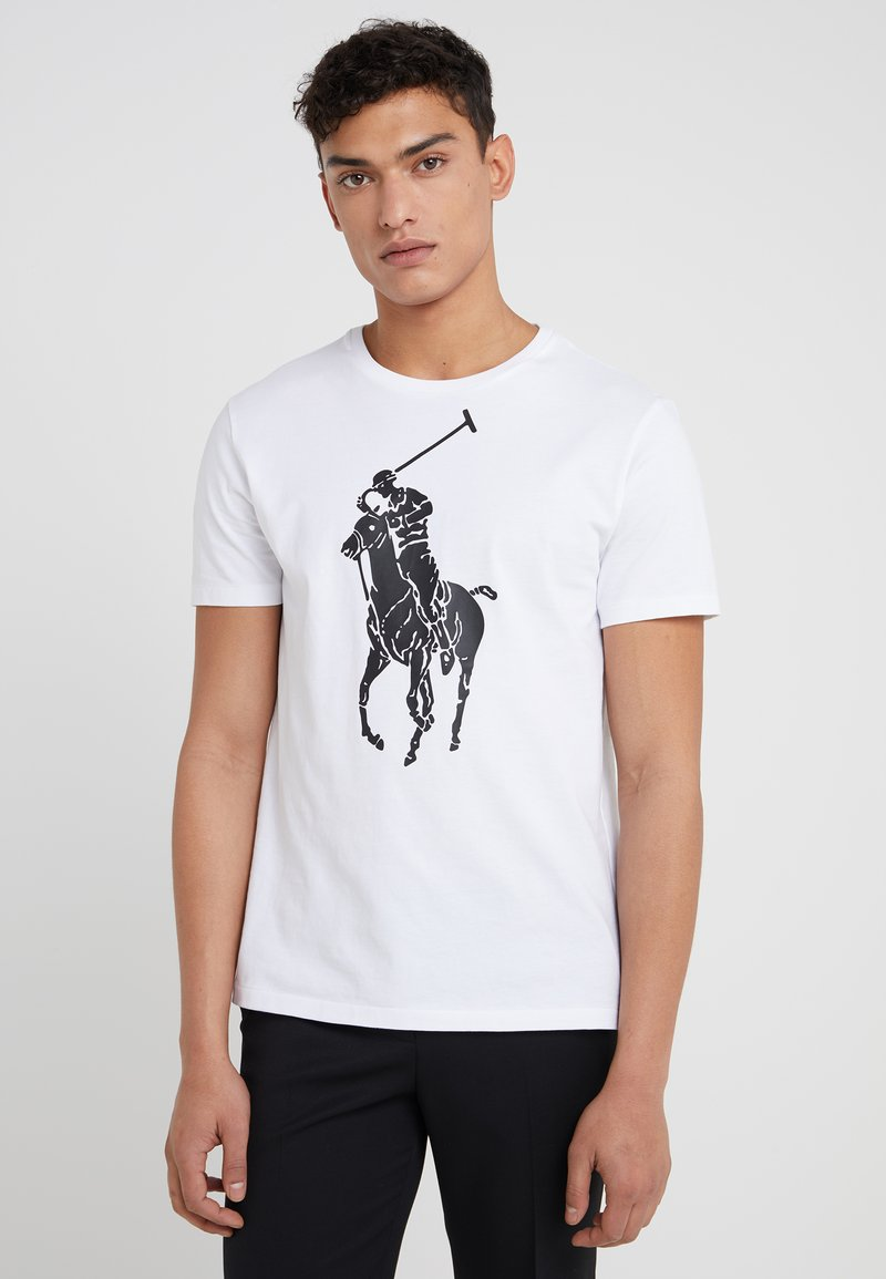 Polo Ralph Lauren - SLIM FIT - T-Shirt basic - white