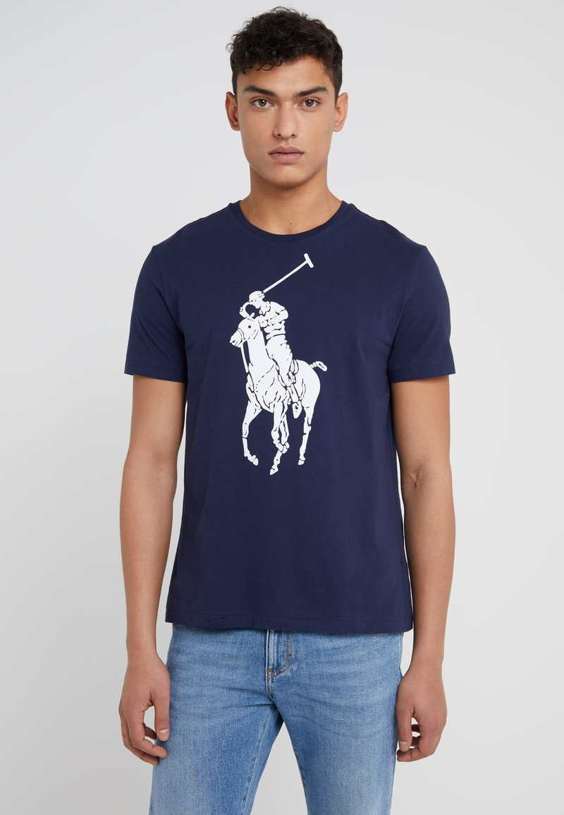 Polo Ralph Lauren - SLIM FIT - T-Shirt basic - cruise navy