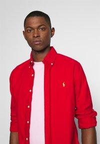 Polo Ralph Lauren - PIMA POLO-SSL-TSH - T-shirt basique - garden pink - 3
