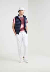 Polo Ralph Lauren - SLIM FIT - T-shirt print - cruise red/white - 1