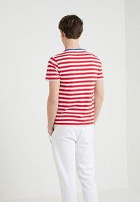 Polo Ralph Lauren - SLIM FIT - T-shirt print - cruise red/white - 2