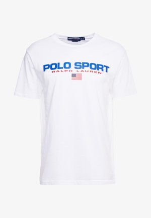 POLO SPORT - T-shirt print - white