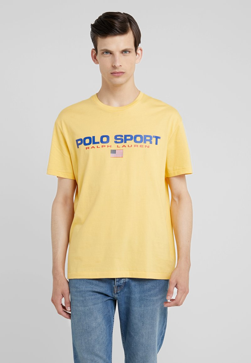 Polo Ralph Lauren - POLO SPORT - T-shirt con stampa - chrome yellow