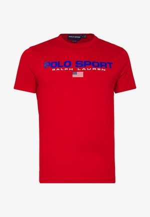 POLO SPORT - T-shirt con stampa - red