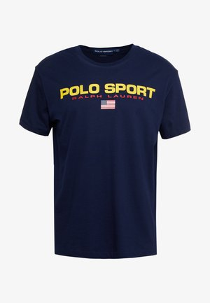 POLO SPORT - T-shirt print - cruise navy