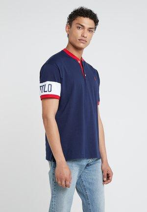 Jednoduché triko - french navy/white