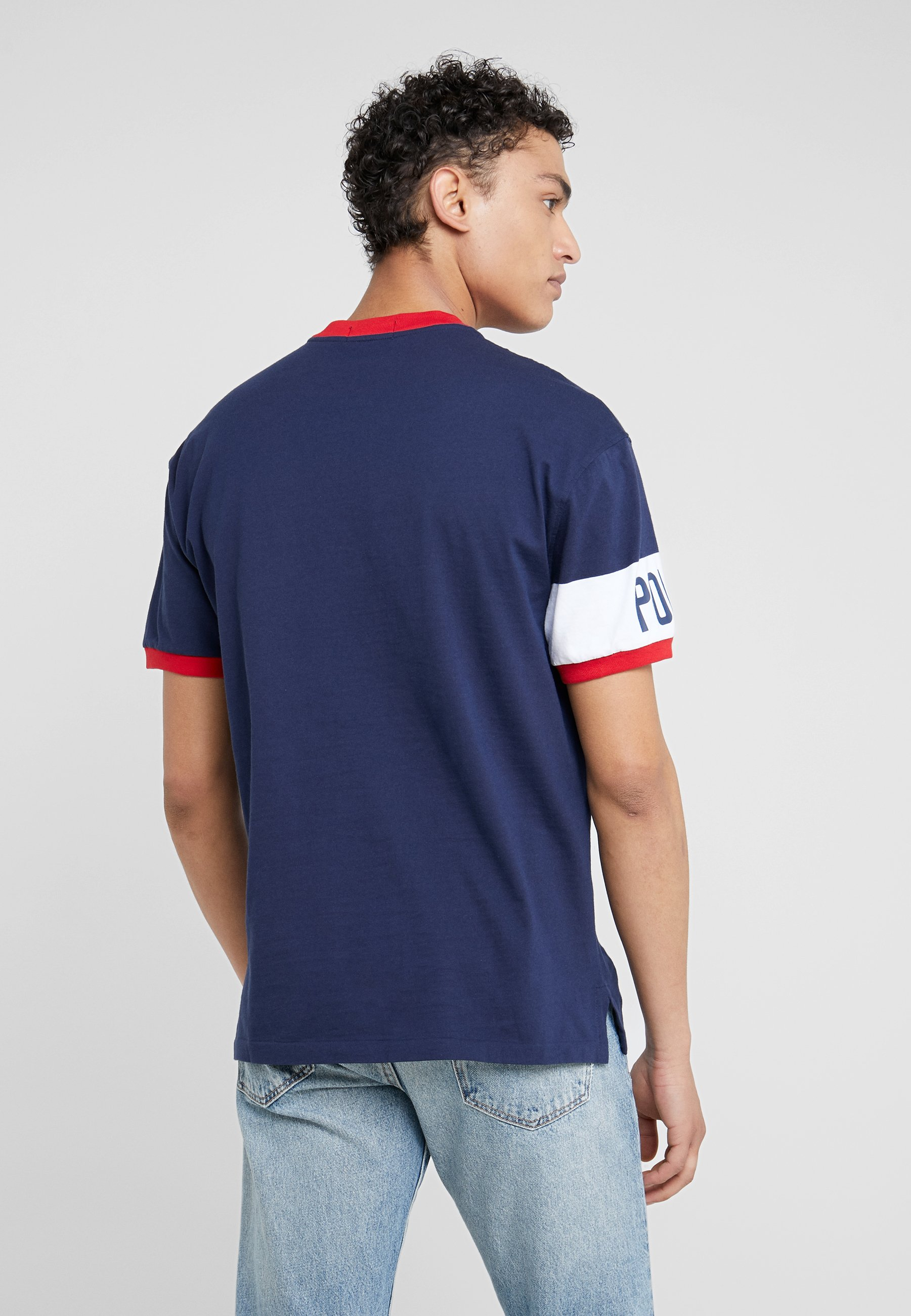 T Navy white Ralph shirt BasiqueFrench Lauren Polo NnOwZ80XPk