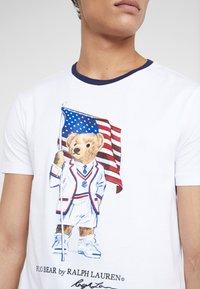 Polo Ralph Lauren - T-shirt print - white - 4