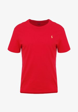 SLIM FIT - T-shirts - red