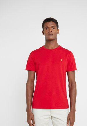 SLIM FIT - Basic T-shirt - red