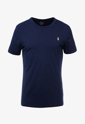 SLIM FIT - T-shirts - cruise navy