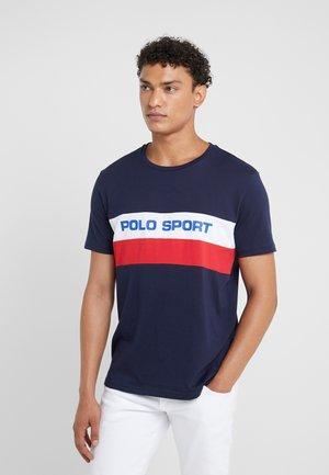 T-Shirt print - cruise navy/multi