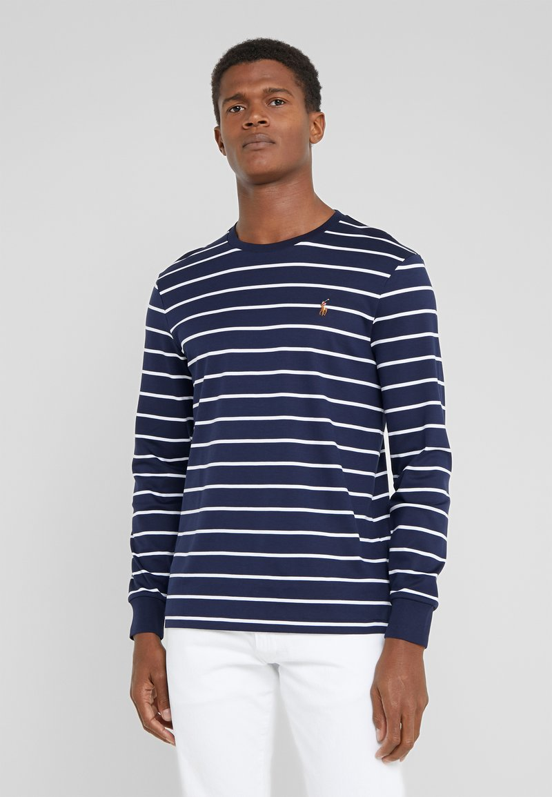 Polo Ralph Lauren - Long sleeved top - french navy/white