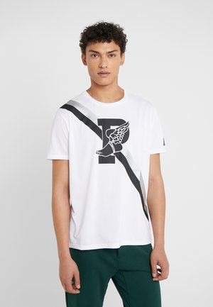 PERFORMANCE - Print T-shirt - pure white