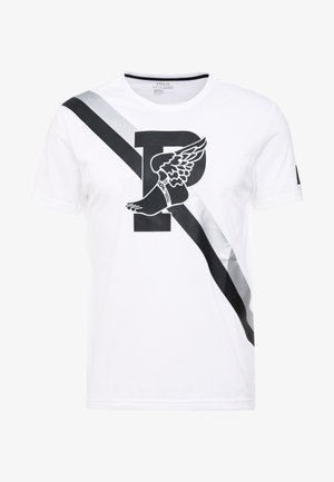 PERFORMANCE - T-shirts med print - pure white