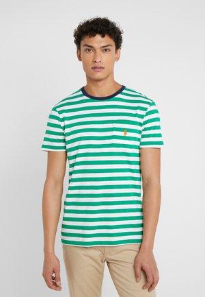 Camiseta estampada - stem/white