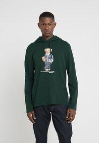 Polo Ralph Lauren - Sweat à capuche - college green - 0