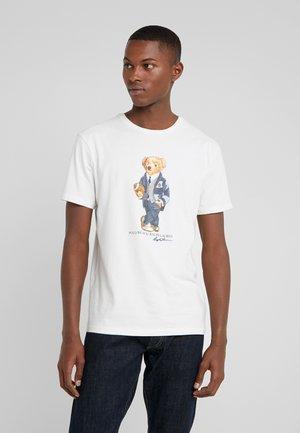 T-shirt imprimé - deckwash white