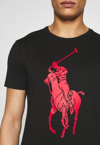 Polo Ralph Lauren - T-shirt imprimé - black - 5