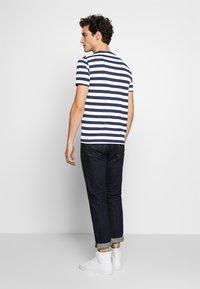 Polo Ralph Lauren - T-shirt imprimé - french navy/white - 2