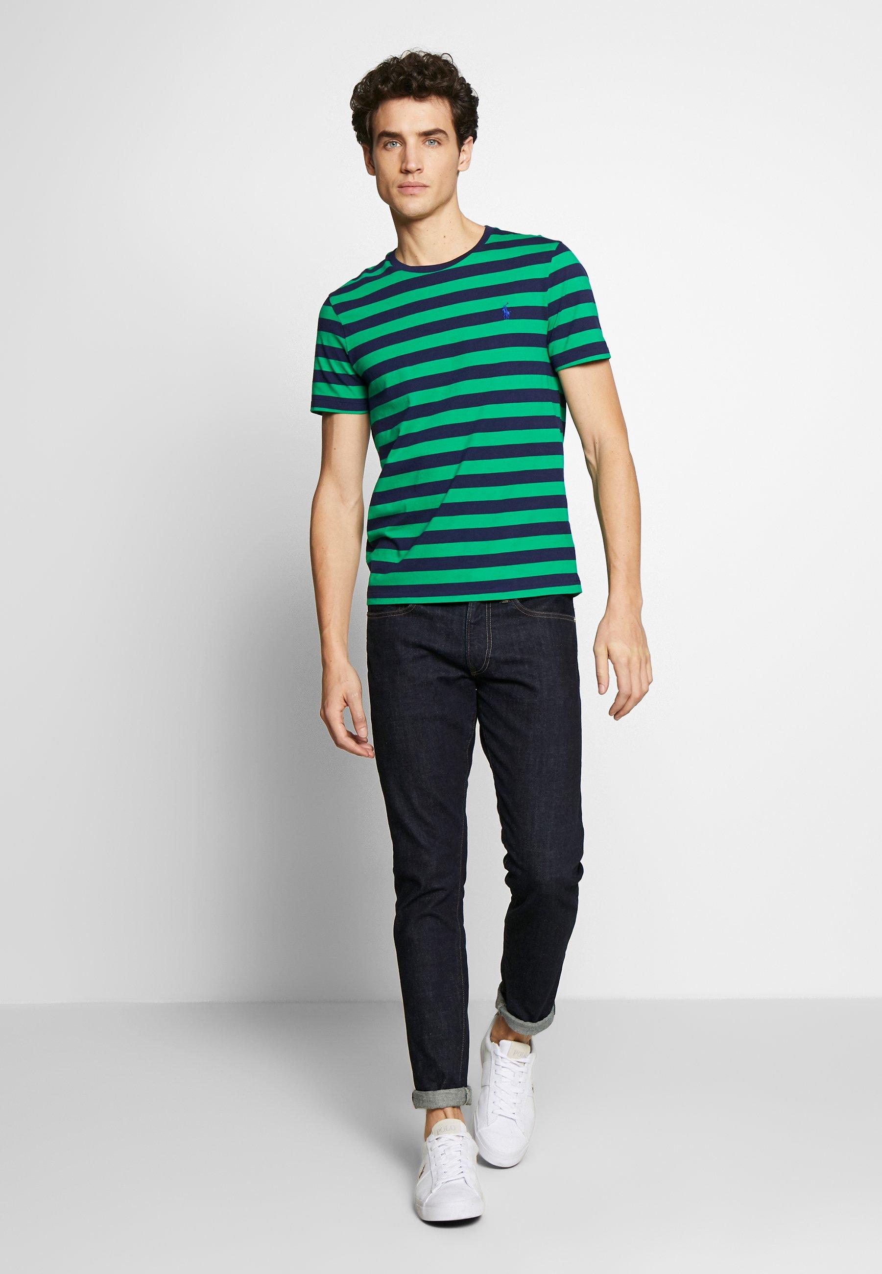 Polo Ralph Lauren T shirt imprimé greendark blue ZALANDO.FR