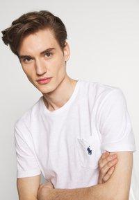 Polo Ralph Lauren - SLUB - T-shirt basic - white - 3