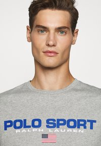 Polo Ralph Lauren - T-shirt imprimé - andover heather - 3