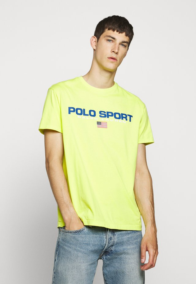 T-Shirt print - bright pear