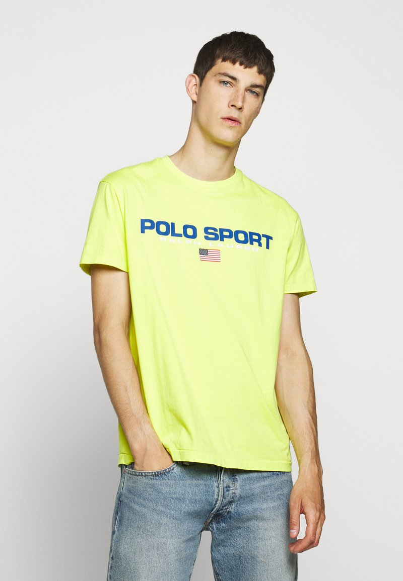 Polo Ralph Lauren - T-shirt imprimé - bright pear