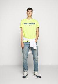 Polo Ralph Lauren - T-shirt imprimé - bright pear - 1