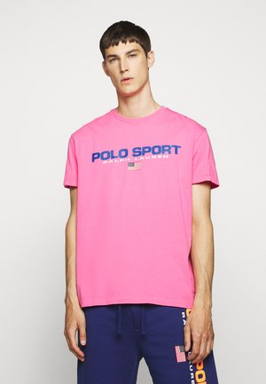 T-shirt print - blaze knockout pink