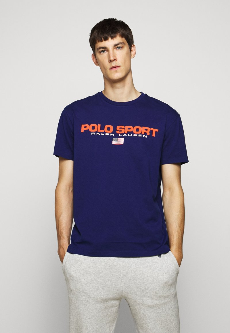 Polo Ralph Lauren - T-shirt imprimé - fall royal