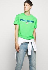 Polo Ralph Lauren - Print T-shirt - neon green - 4