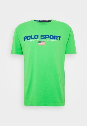 T-shirt con stampa - neon green