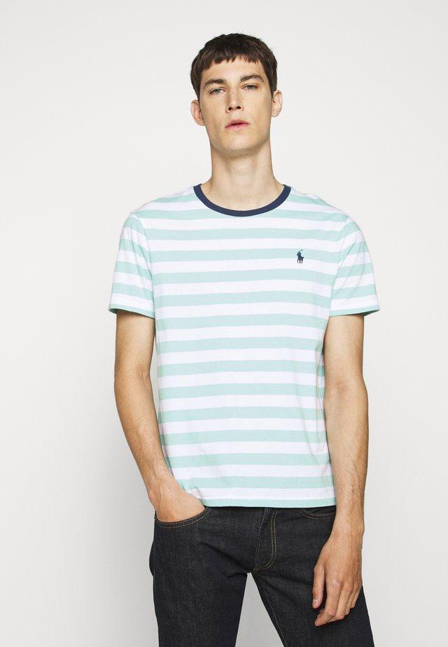 Camiseta estampada - bayside green/white