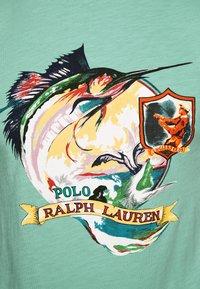 Polo Ralph Lauren - Print T-shirt - bayside green - 5