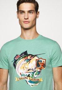 Polo Ralph Lauren - Print T-shirt - bayside green - 3