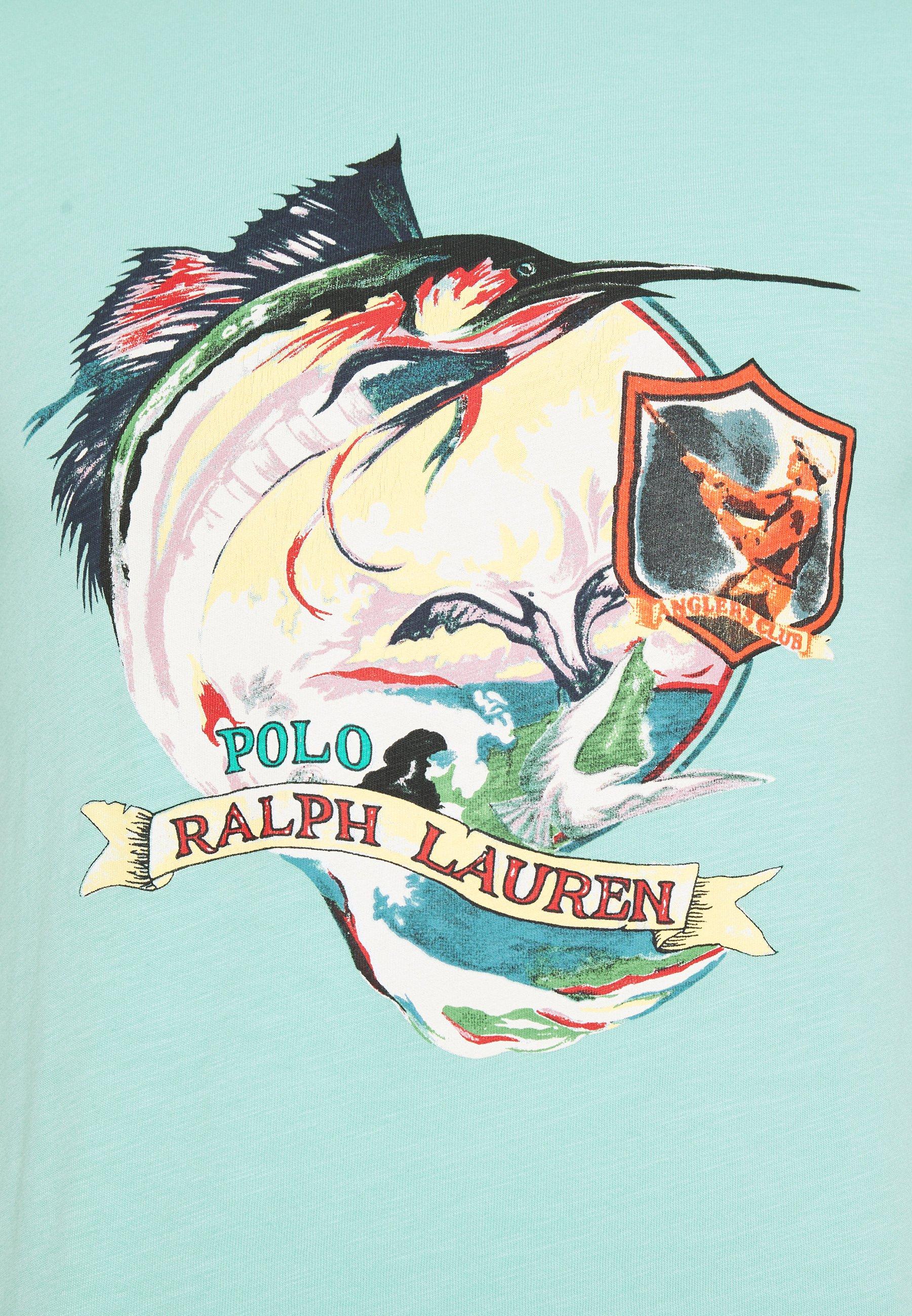 Polo Ralph Lauren T-shirt Imprimé - Bayside Green