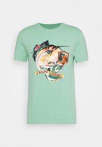 Polo Ralph Lauren - T-shirt imprimé - bayside green - 4