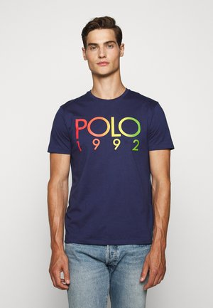 Print T-shirt - boathouse navy